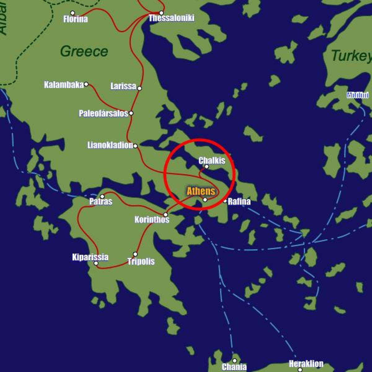Larissa Station Ateenan Kartta Kartta Larissa Station Ateena
